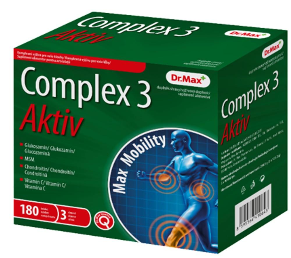 Dr.Max Complex 3 Aktiv, 180 comprimate imagine produs 2021