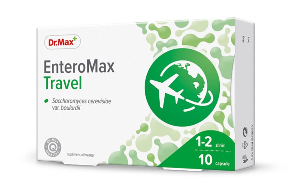 Dr.Max Enteromax Travel 10caps imagine produs 2021