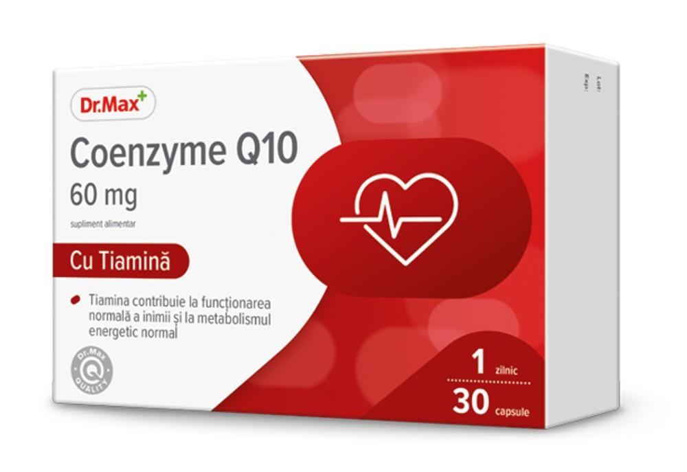 Dr.Max Coenzyme Q1060mg 30cps moi imagine produs 2021