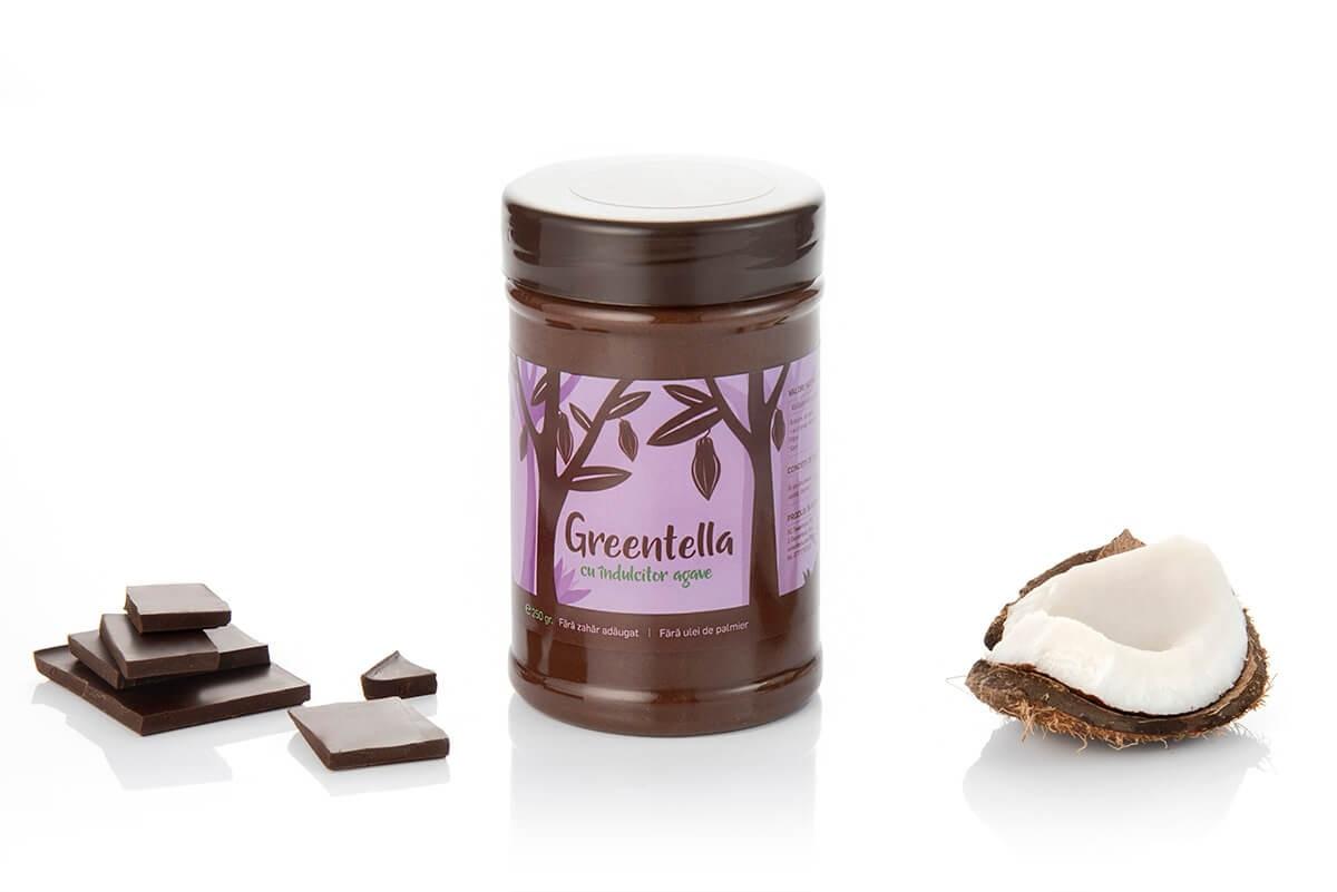 Crema tartinabila vegana cu ciocolata Greentella, 300g, Sweeteria