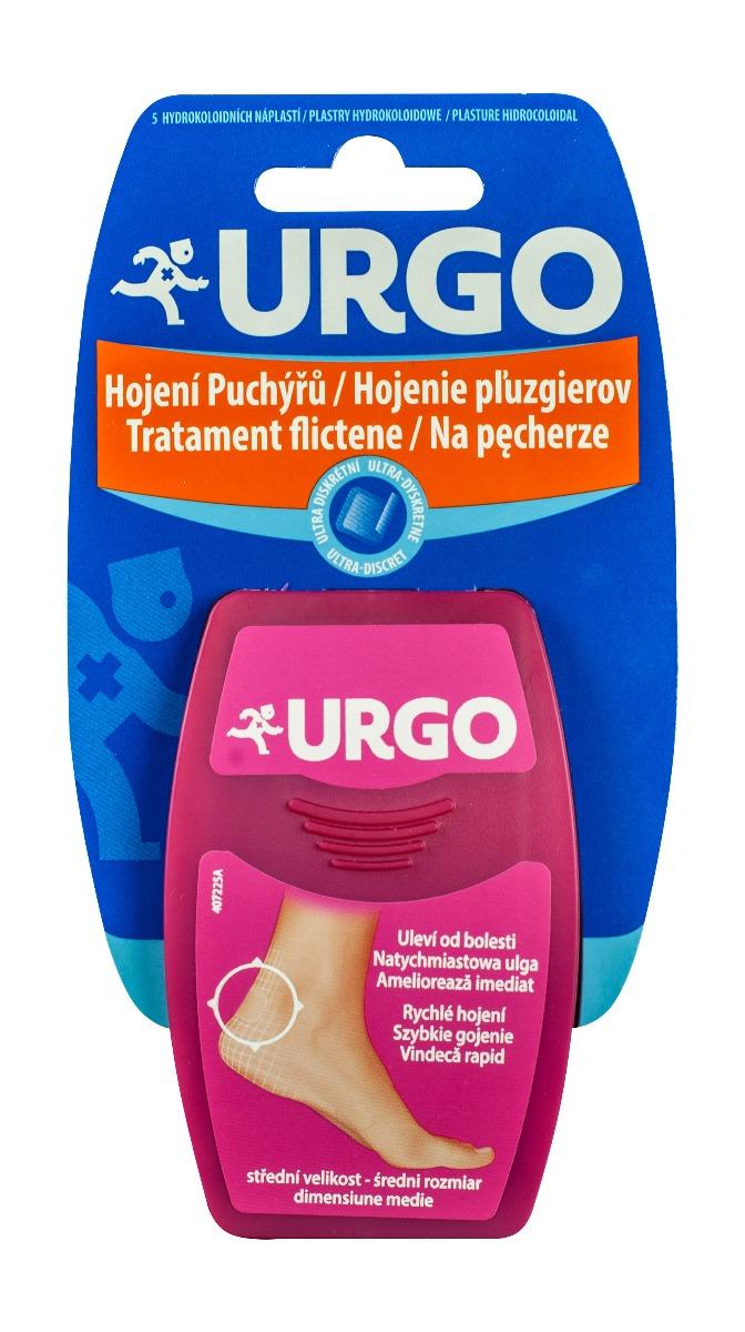 Plasturi mediu pentru tratament flictene Ultra Discret , 5 plasturi, Urgo