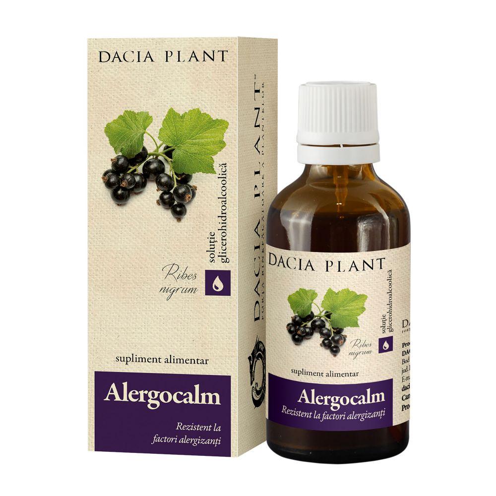 Alergocalm tinctura, 50ml, Dacia Plant drmax.ro