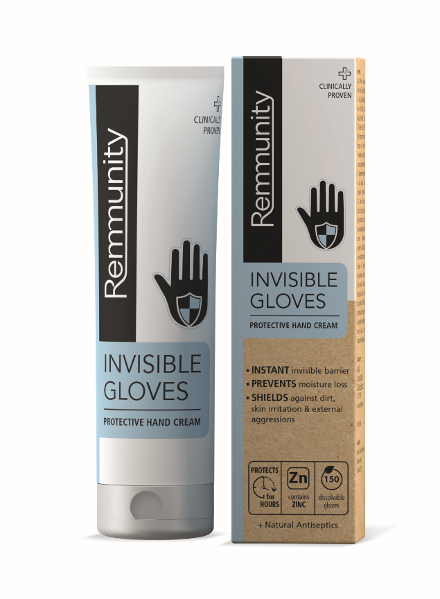 Crema de maini protectoare Manusi Invizibile, 100ml, Remmunity imagine produs 2021