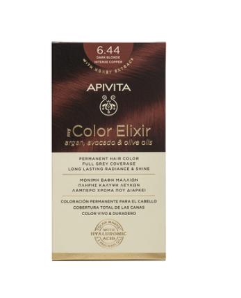 Vopsea My Color Elixir, N6.44, Apivita drmax.ro