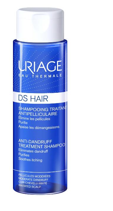 Sampon tratament antimatreata cu apa termala DS Hair, 200ml, Uriage imagine produs 2021