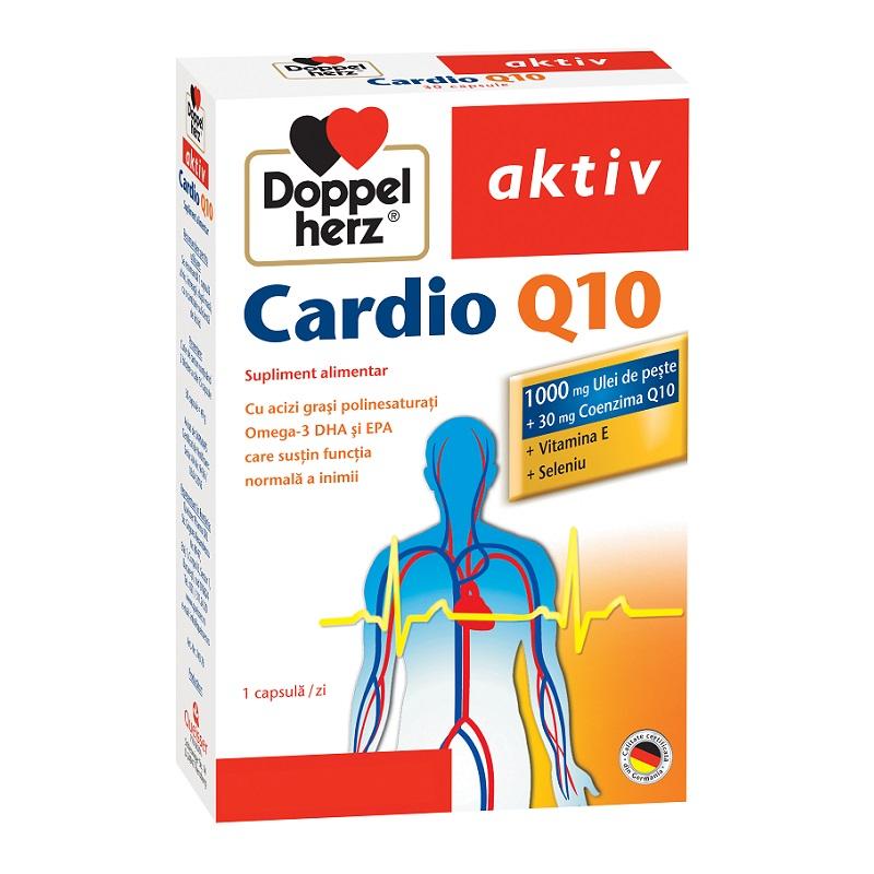 Cardio Q10, 30 capsule, Doppelherz imagine produs 2021