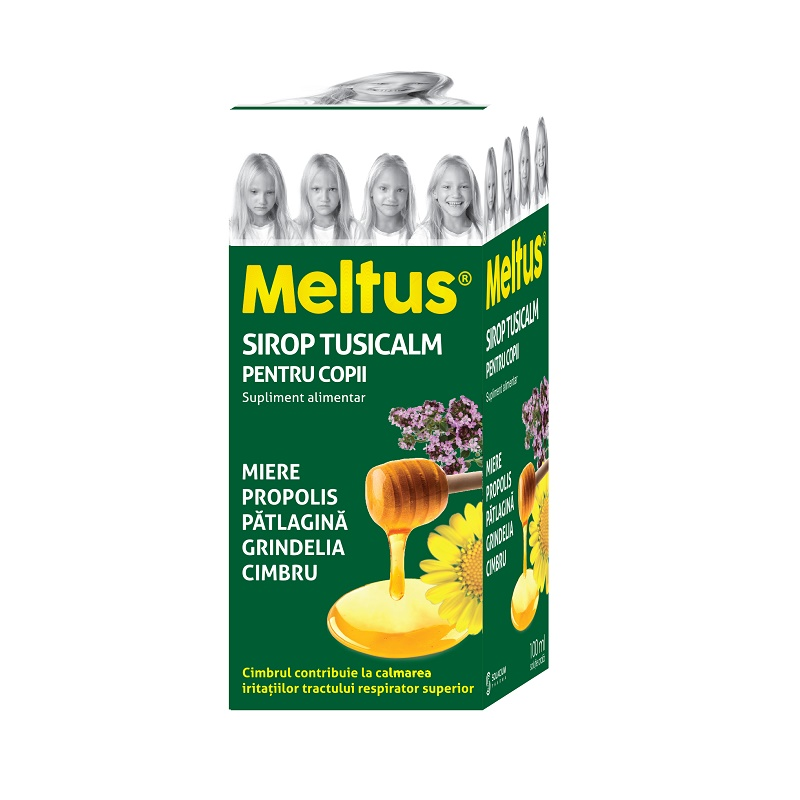 Meltus Tusicalm sirop pentru copii, 100 ml, Solacium
