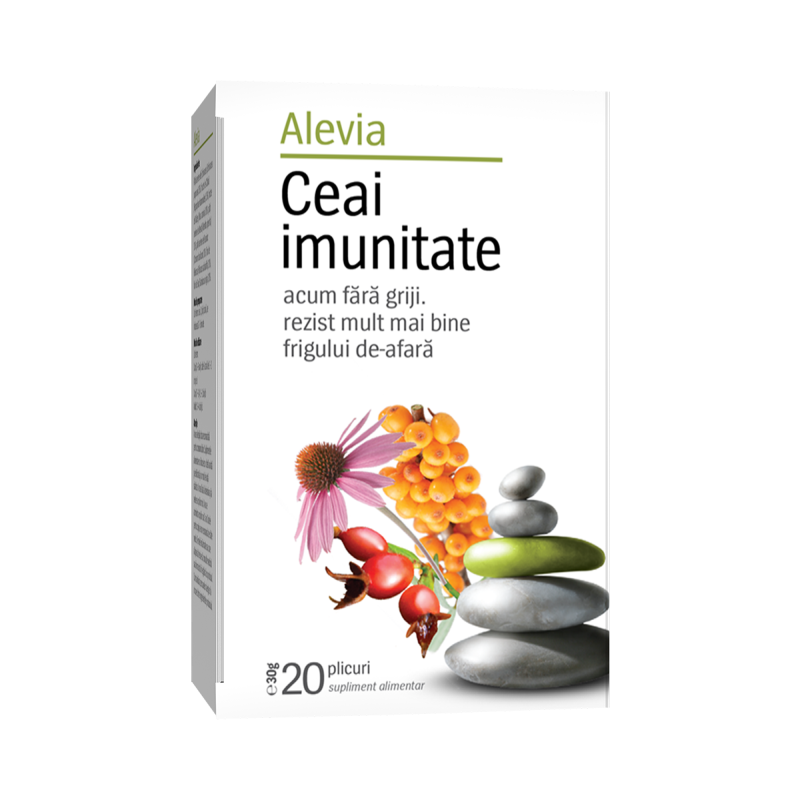 Ceai imunitate, 20 plicuri, Alevia drmax.ro