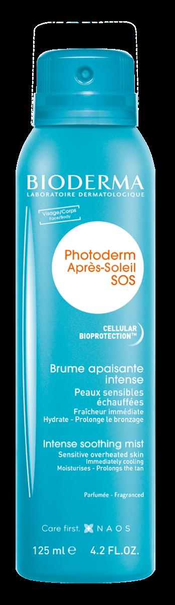 Spray reparator după plaja Photoderm SOS, 125ml, Bioderma drmax.ro