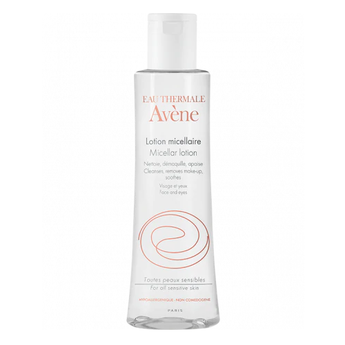 Lotiune micelara pentru ten sensibil, 100 ml, Avene Essentials