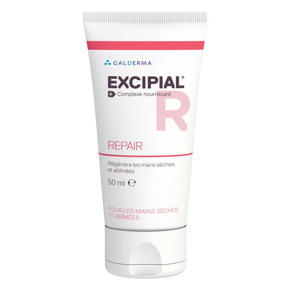 Crema pentru maini uscate si iritate Excipial R Repair, 50ml, Galderma imagine produs 2021