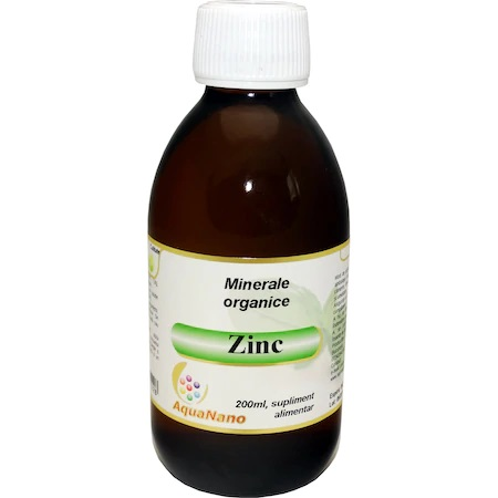 Zinc Organic, 200ml, Aghoras drmax poza