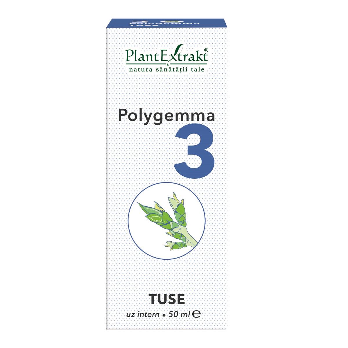 Polygemma 3 Tuse, 50ml, Plant Extrakt drmax.ro