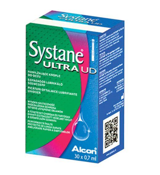 Systane Ultra, 30 unidoze, Alcon imagine produs 2021