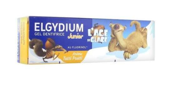 Pasta de dinti pentru copii Tutti Frutti, 50ml, Elgydium drmax.ro