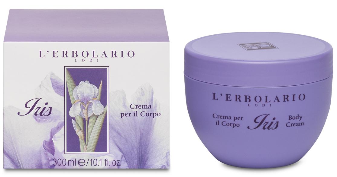 L'Erbolario, Crema de corp parfumata - Iris, 300ml imagine produs 2021