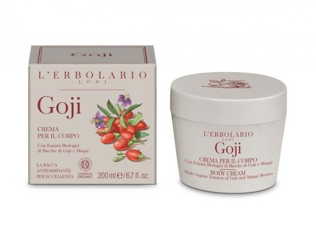 L'Erbolario Crema de corp Goji, 200ml drmax.ro