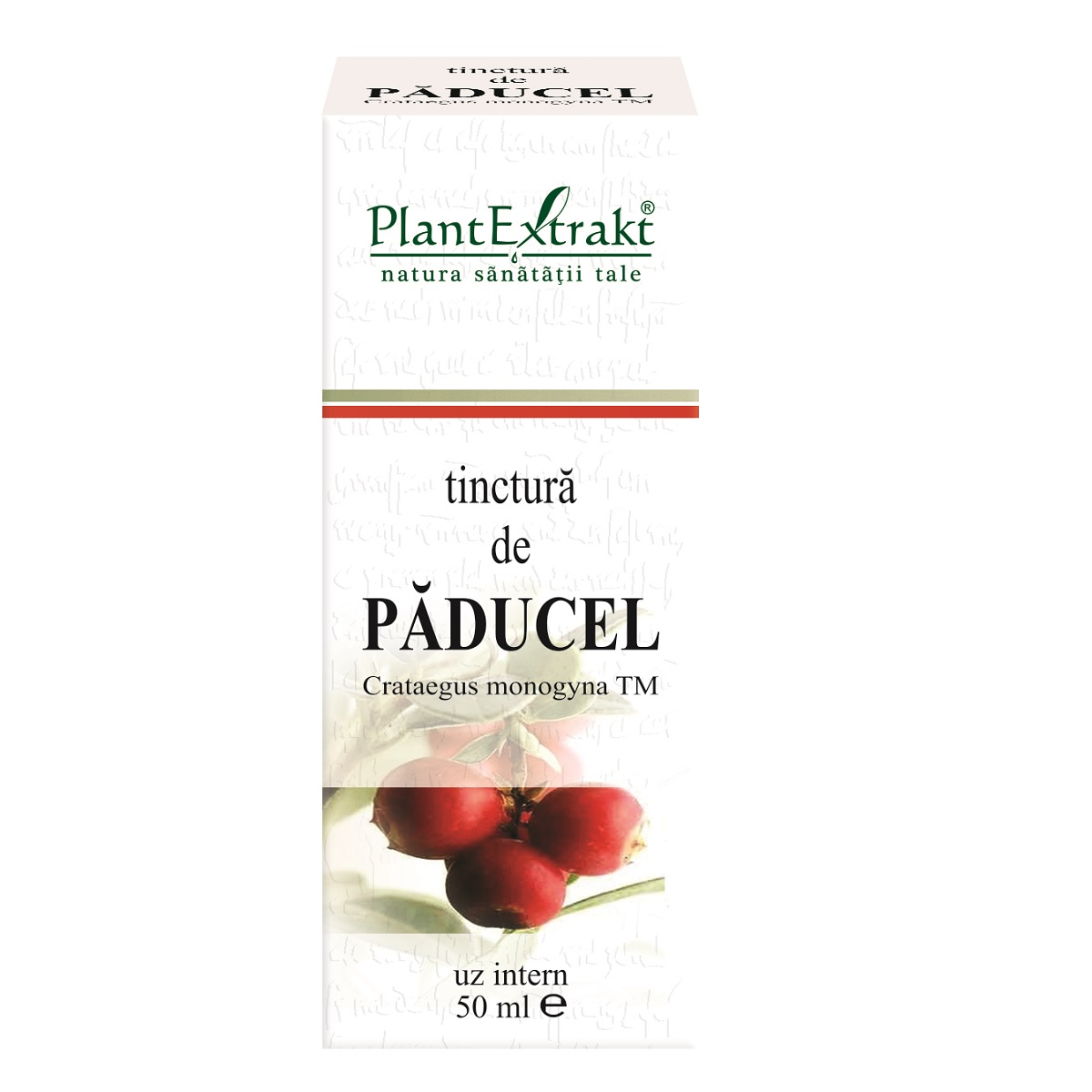 Tinctura de Paducel, 50ml, Plantextrakt imagine produs 2021