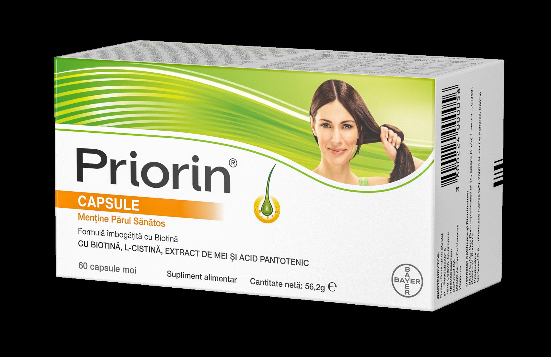 Priorin, 60 capsule, Bayer