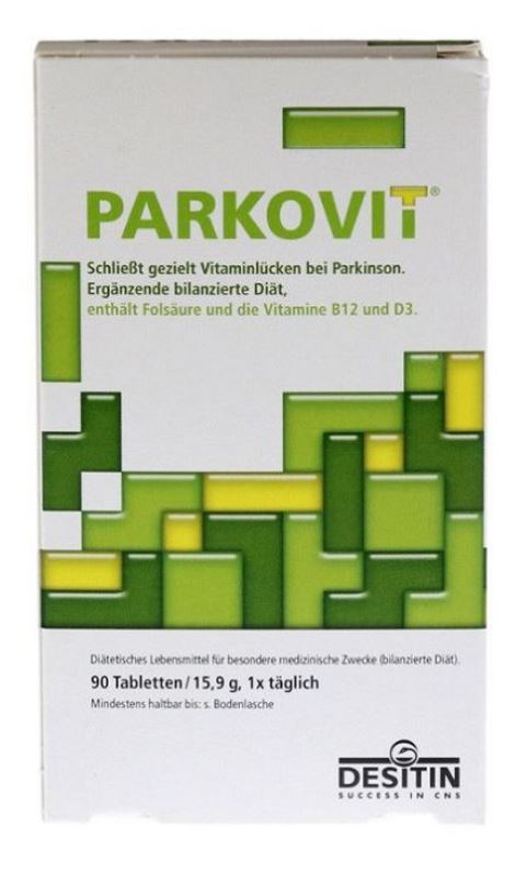 Parkovit, 90 tablete, Desitin imagine produs 2021
