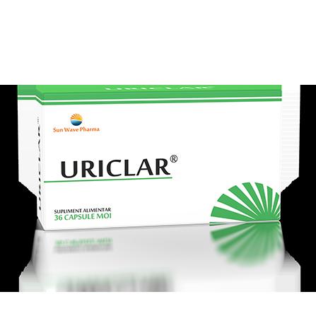 Uriclar, 36 capsule, Sunwave drmax poza