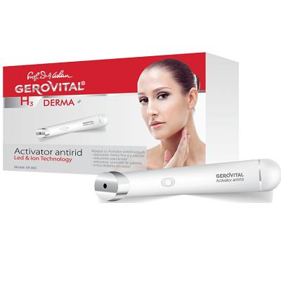 Aparat de masaj cu Activator antirid GH3 Derma+, Gerovital drmax.ro