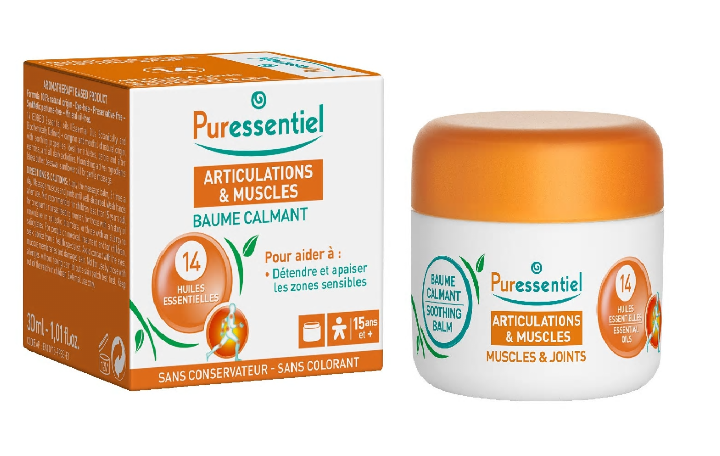 Muscle & Joints - Unguent Bio antireumatic cu 14 uleiuri esențiale, 30ml, Puressentiel drmax poza
