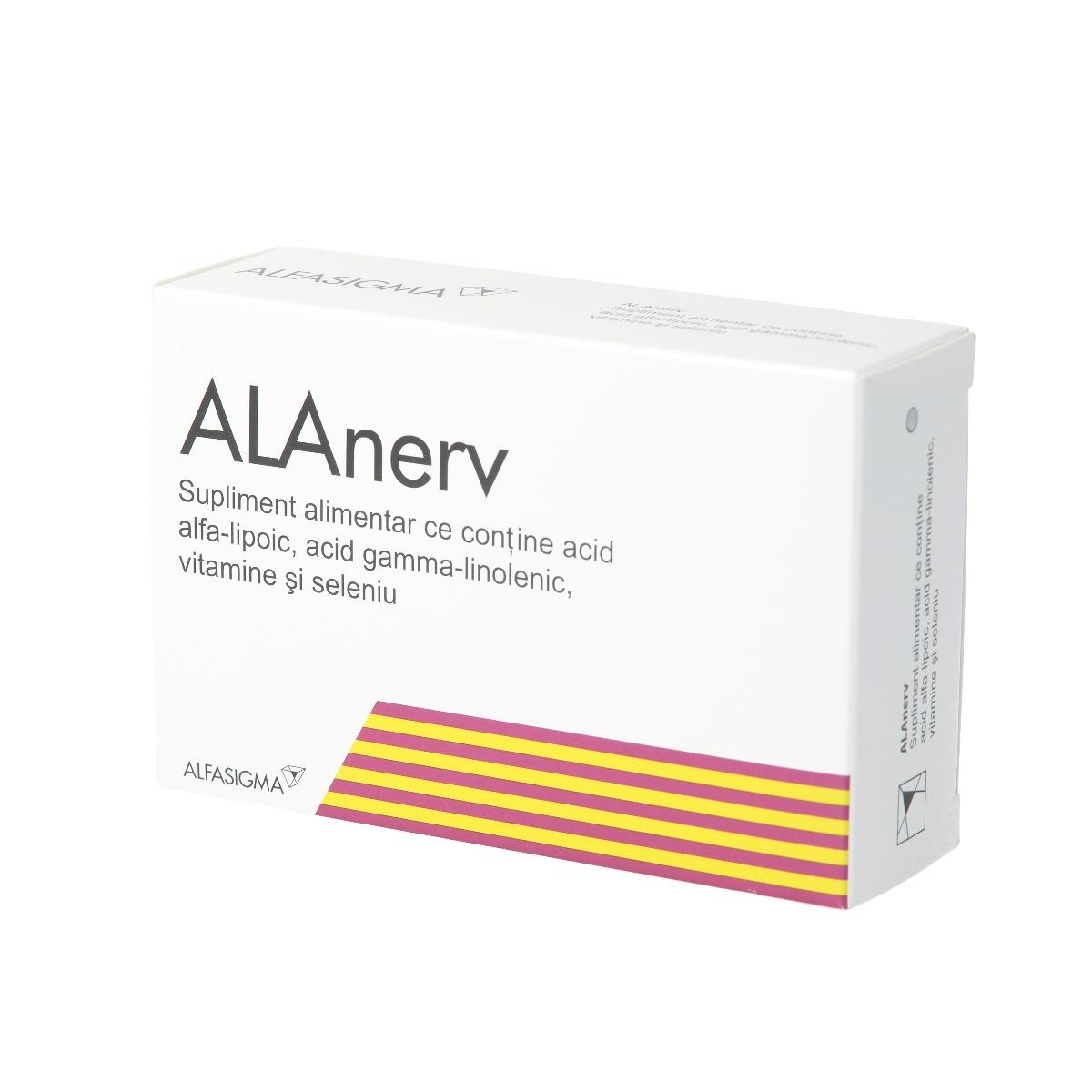 Alanerv, 20 capsule moi, Alfasigma imagine produs 2021