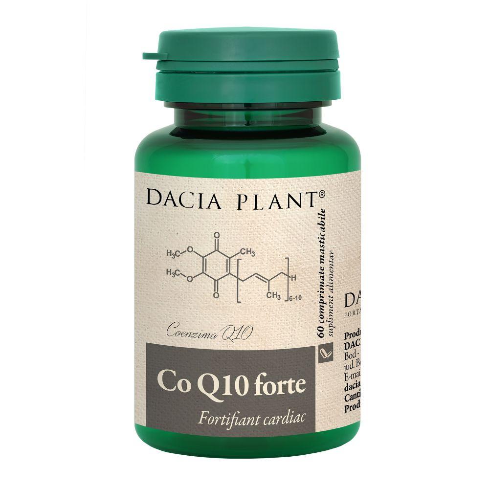 Coenzima Q10 Forte, 60 comprimate, Dacia Plant drmax.ro