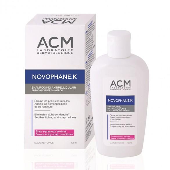 Sampon antimatreata Novophane K, 125ml, ACM drmax.ro