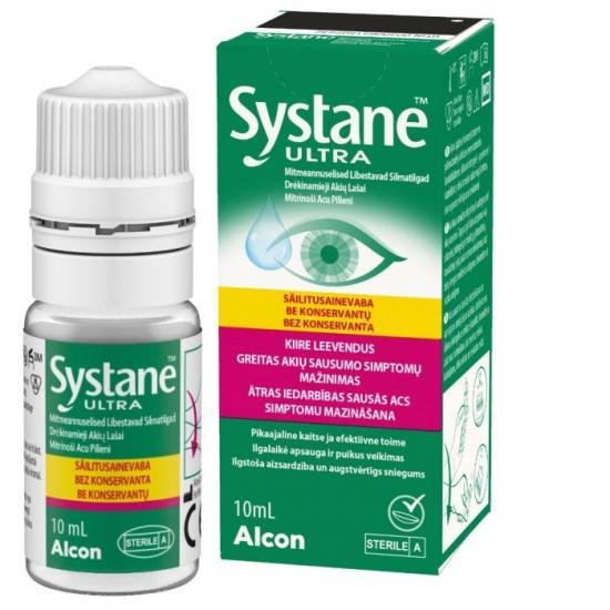 Picaturi oftalmice lubrifiante Systane Ultra, 10ml, Alcon drmax.ro