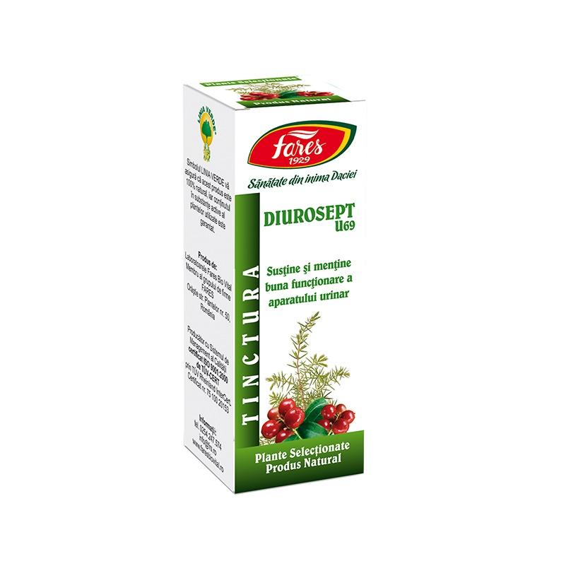 Tinctura Diurosept, 30 ml, Fares drmax poza