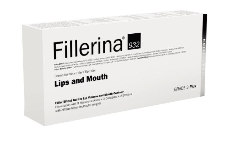 Tratament pentru buze si conturul buzelor Grad 3 Plus Fillerina 932, 7ml, Labo imagine drmax.ro