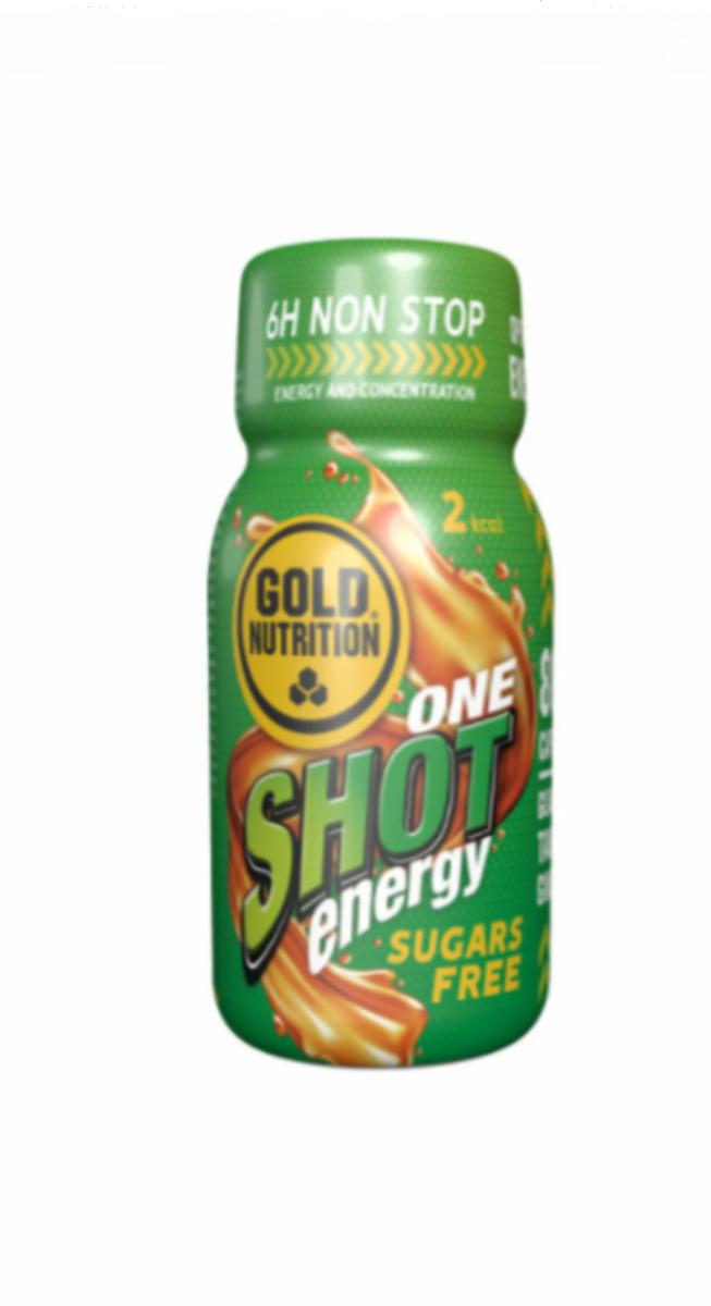 Bautura energizanta fara zahar, 60ml, Gold Nutrition