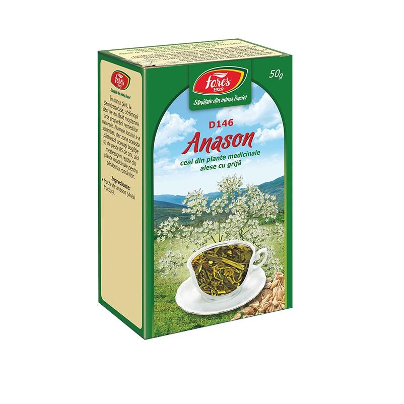 Ceai fructe Anason D146, 50g, Fares drmax.ro
