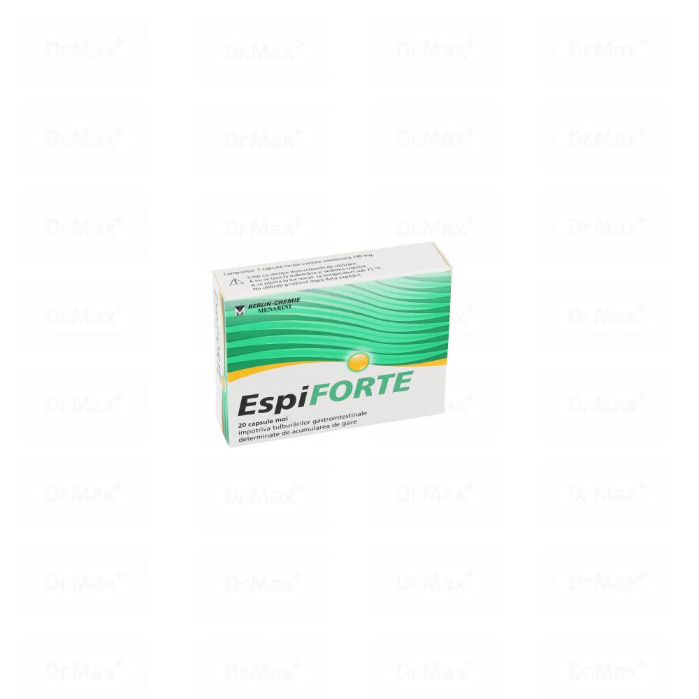 EspiFORTE 140 mg, 20 capsule, Berlin-Chemie la preț mic imagine