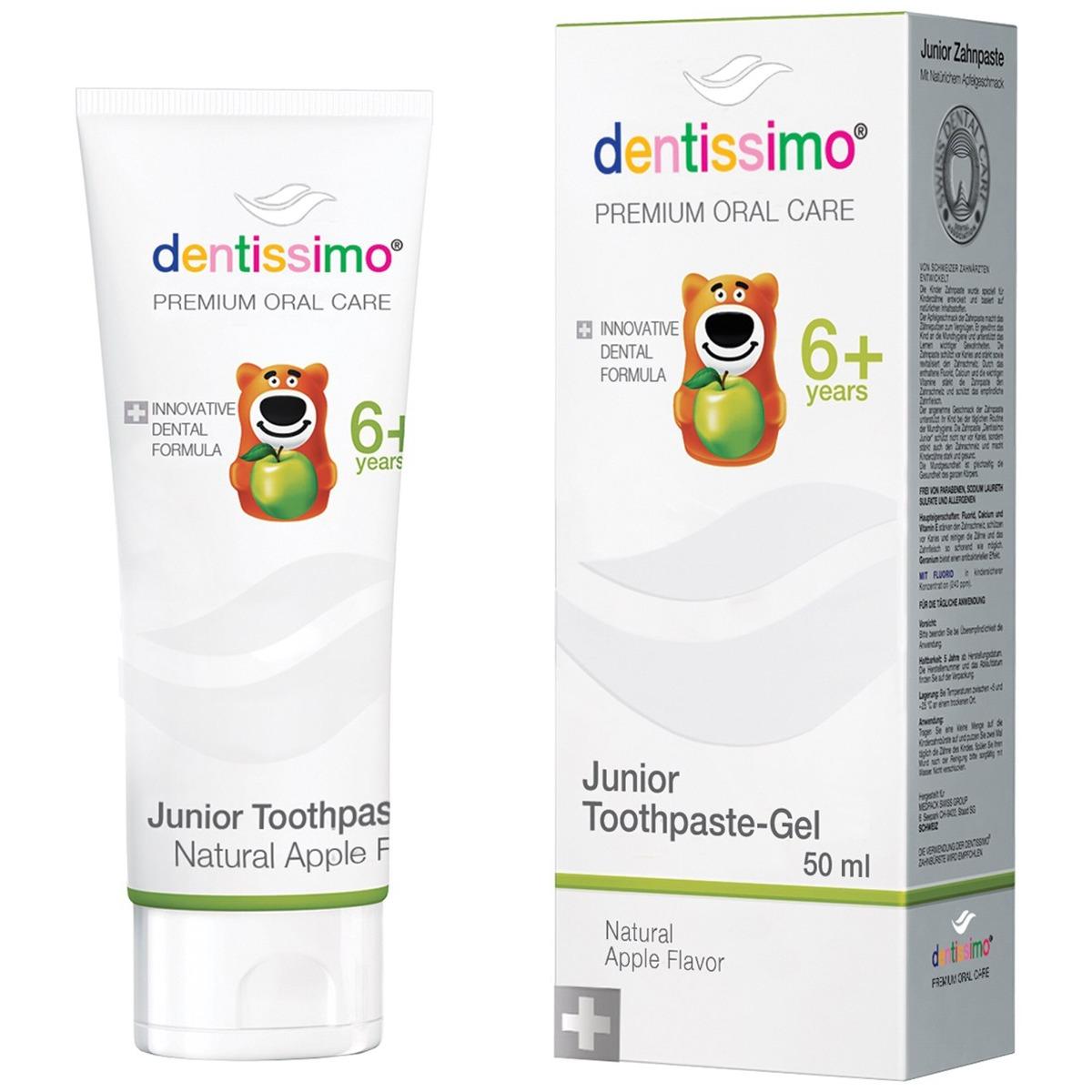 Pasta de dinti pentru copii 6+, 50ml, Dentissimo drmax.ro