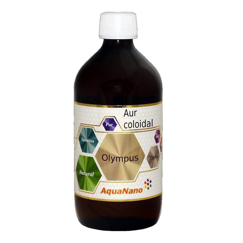 Aur coloidal Olimpus 30ppm, 480 ml, Aghoras drmax.ro
