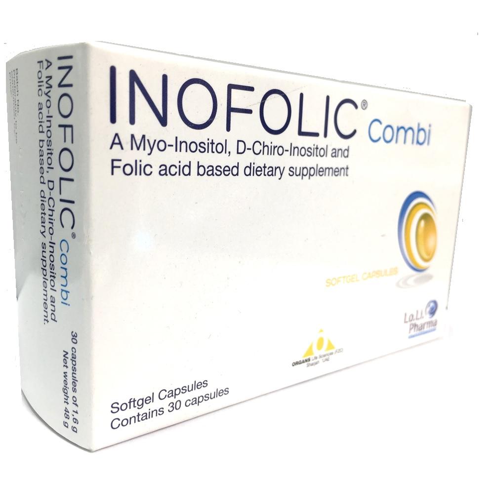 Inofolic Combi, 30 capsule, LO.LI. Pharma drmax.ro