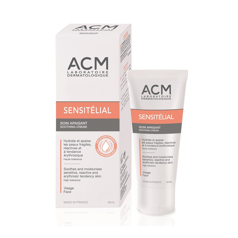 Crema calmanta Sensitelial, 40 ml, ACM drmax.ro