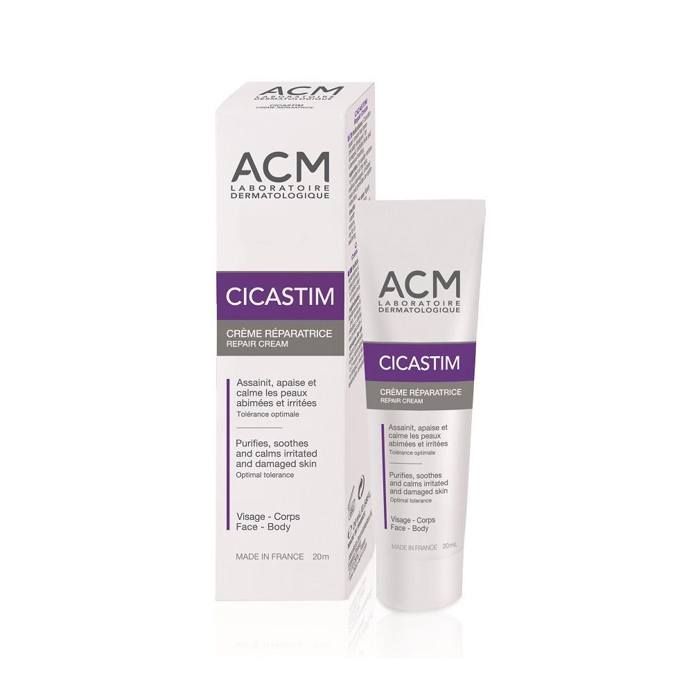 Crema reparatoare cicatrizanta Cicastim, 20 ml, ACM drmax.ro
