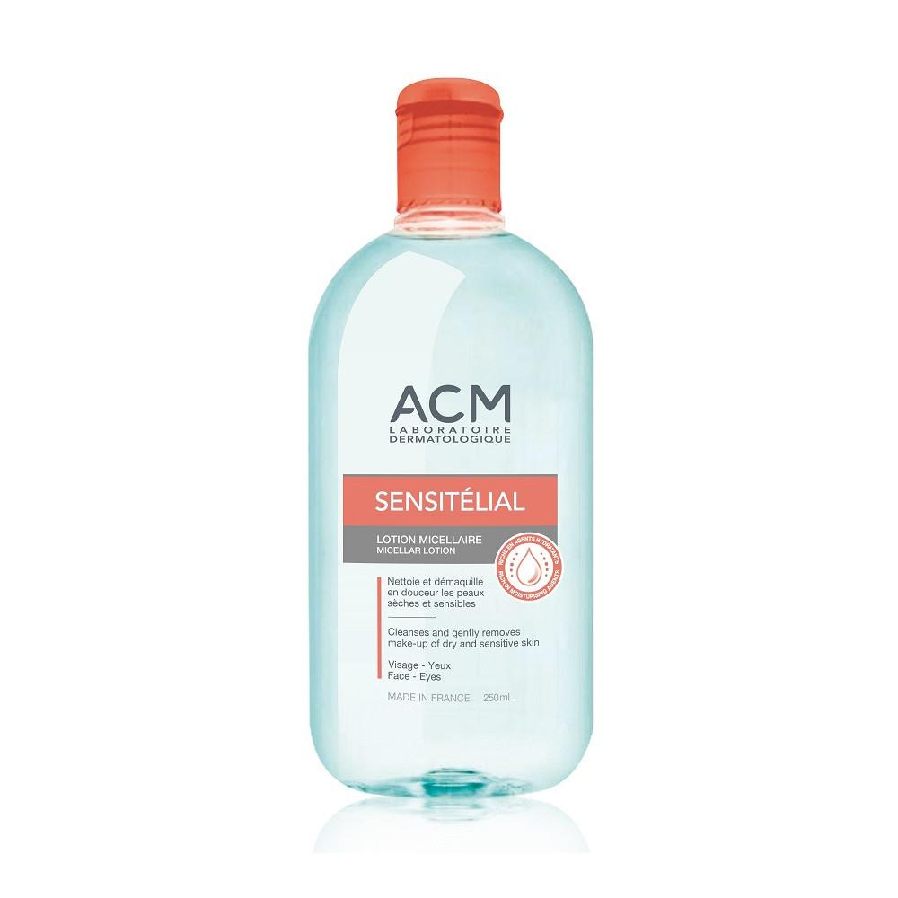 Lotiune micelara pentru fata si ochi Sensitelial, 250 ml, Acm drmax.ro