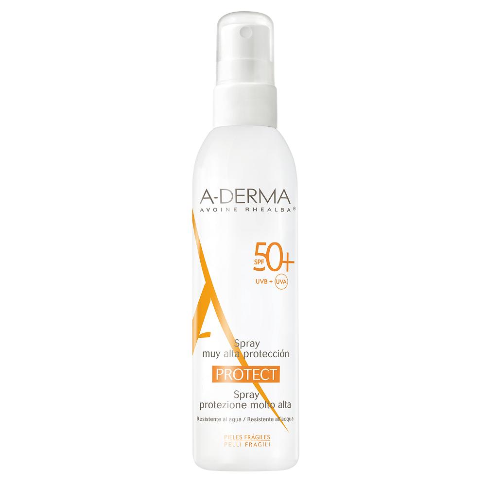 Spray pentru piele sensibila cu SPF 50+, 200 ml, A-Derma Protect