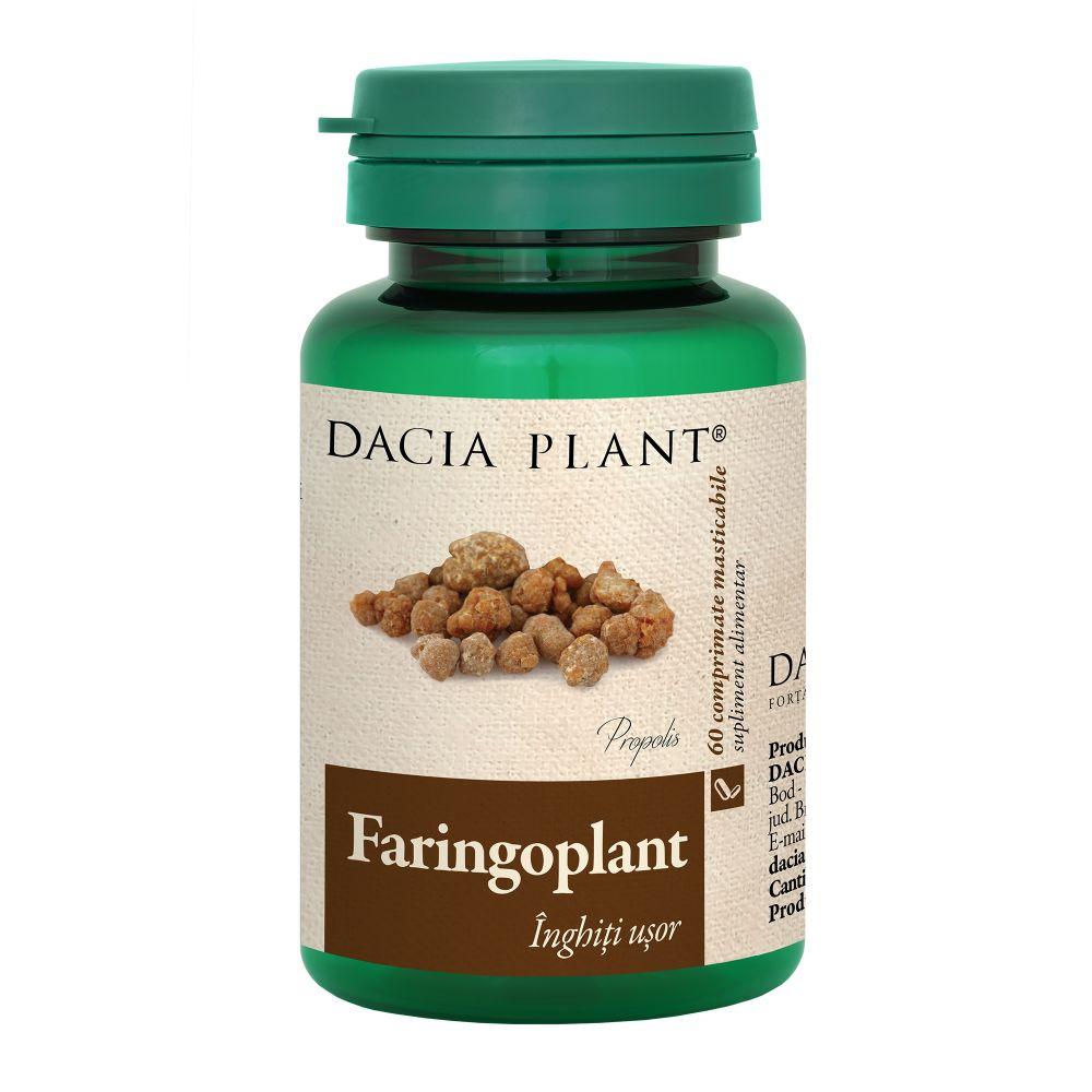 Faringoplant, 60 comprimate masticabile, Dacia Plant drmax.ro
