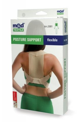Orteza toracica elastica S/M, 1 bucata, MedTextile drmax.ro