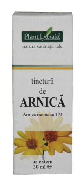 Tinctura de Arnica, 30ml, Plantextrakt drmax poza