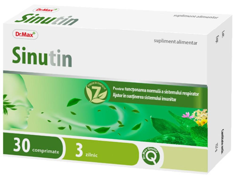 Dr.Max Sinutin, 30 comprimate imagine produs 2021