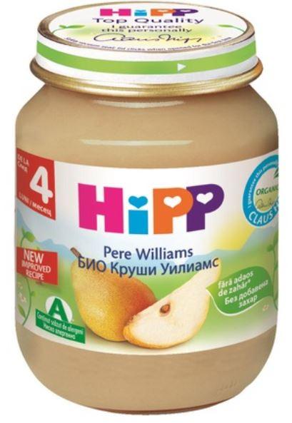 Piure de pere Williams, 125g, Hipp imagine produs 2021