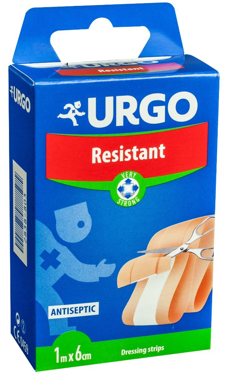 Plasture rezistent banda 1 m x 6 cm, Urgo