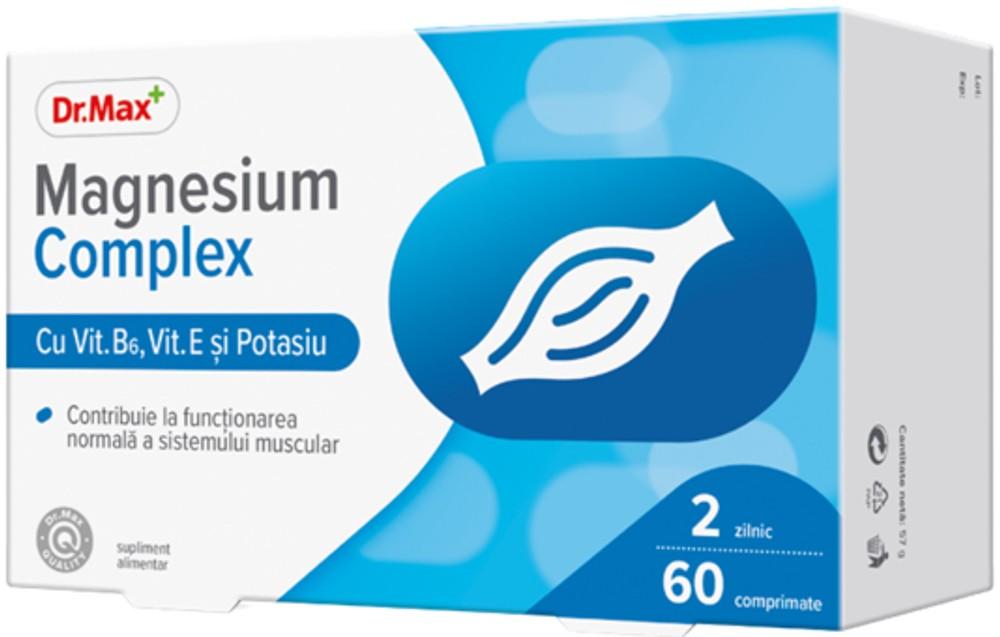 Dr.Max Magneziu complex, 60 comprimate imagine produs 2021